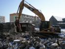 Rozbiórka budynku szkoły w Sławnie Marzec 2008